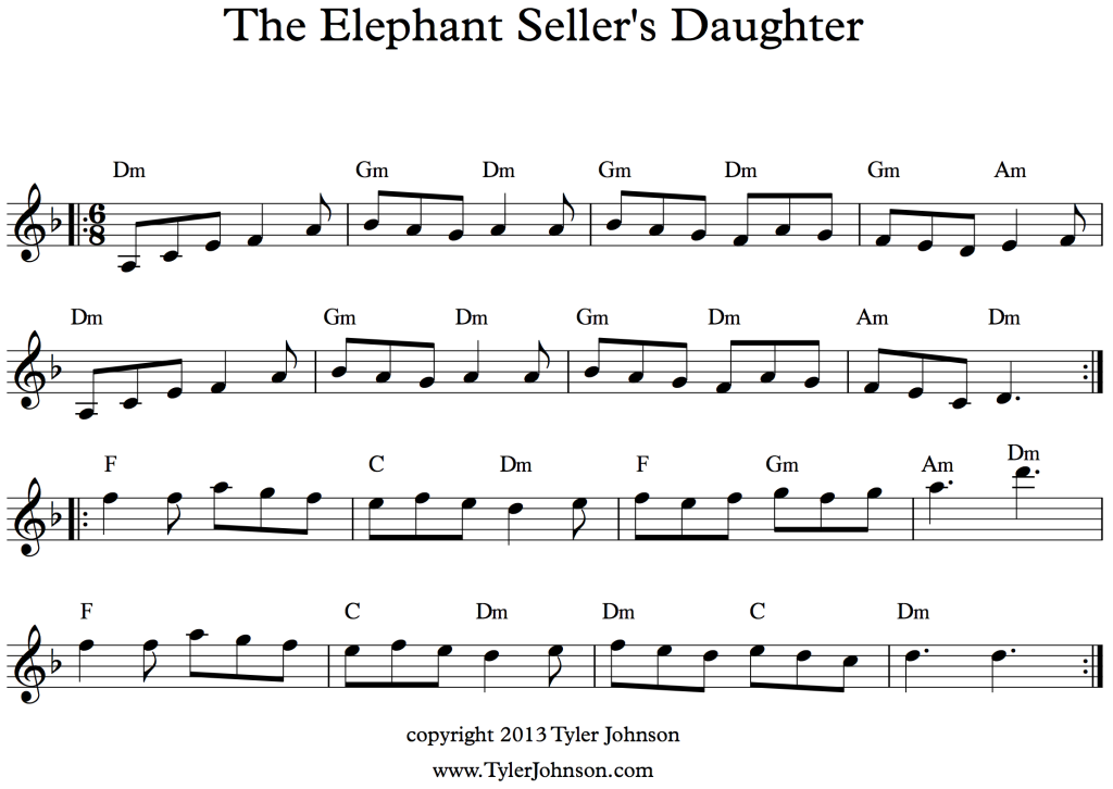 The Elephant Seller's Daughter