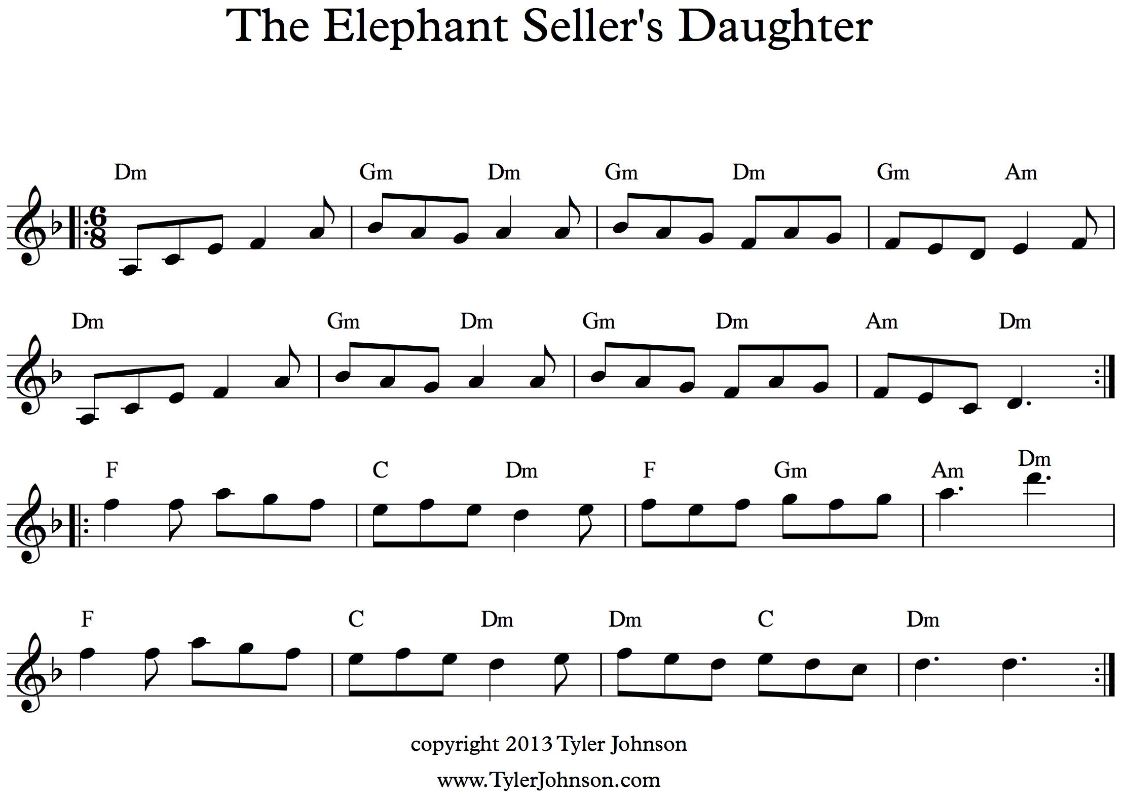 Tyler johnson writer the elephant sellers daughter the elephant sellers daughter hexwebz Choice Image